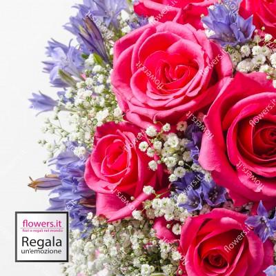 DOLCEZZA - Rose con fiori...
