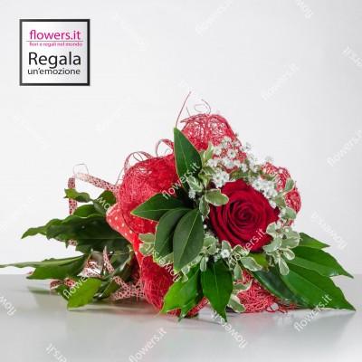 AMORE UNICO - Rosa rossa