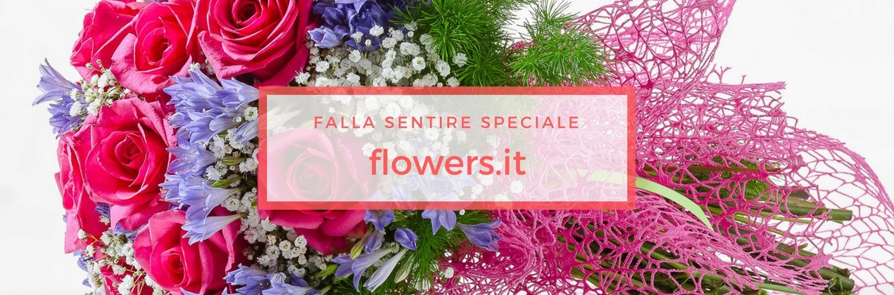 Flowers.it - Consegna Fiori a Domicilio